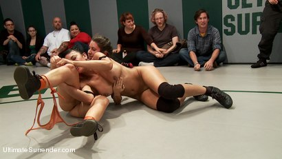 Photo number 9 from Team Dragon vs. Team Nightmare Match #2 for Season 10 shot for Ultimate Surrender on Kink.com. Featuring Izamar Gutierrez, Syd Blakovich, DragonLily, Beretta James, Serena Blair and Mistress Kara in hardcore BDSM & Fetish porn.