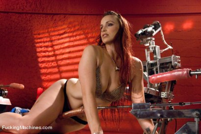 Photo number 2 from Member Requested Hotness: Bella Rossi Fucking with the Big Guns. shot for Fucking Machines on Kink.com. Featuring Bella Rossi in hardcore BDSM & Fetish porn.