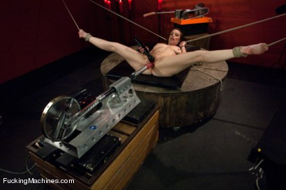 Photo number 12 from Member Requested Hotness: Bella Rossi Fucking with the Big Guns. shot for Fucking Machines on Kink.com. Featuring Bella Rossi in hardcore BDSM & Fetish porn.