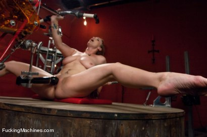 Photo number 4 from Member Requested Hotness: Bella Rossi Fucking with the Big Guns. shot for Fucking Machines on Kink.com. Featuring Bella Rossi in hardcore BDSM & Fetish porn.
