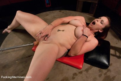 Photo number 6 from Member Requested Hotness: Bella Rossi Fucking with the Big Guns. shot for Fucking Machines on Kink.com. Featuring Bella Rossi in hardcore BDSM & Fetish porn.