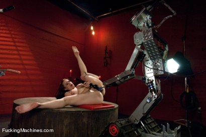 Photo number 9 from Member Requested Hotness: Bella Rossi Fucking with the Big Guns. shot for Fucking Machines on Kink.com. Featuring Bella Rossi in hardcore BDSM & Fetish porn.