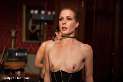 Photo number 9 from Psycho Lesbian Party Night shot for The Upper Floor on Kink.com. Featuring Aiden Starr, Alani Pi and Beretta James in hardcore BDSM & Fetish porn.