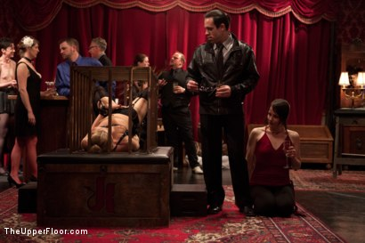 Photo number 5 from Dahlia's Trials shot for The Upper Floor on Kink.com. Featuring Dahlia Sky, Beretta James, Alani Pi and Maestro in hardcore BDSM & Fetish porn.