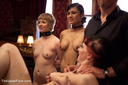 Photo number 15 from Anal Bang Reward for the Brunch Chef shot for The Upper Floor on Kink.com. Featuring Beretta James, Alani Pi and Nerine Mechanique in hardcore BDSM & Fetish porn.
