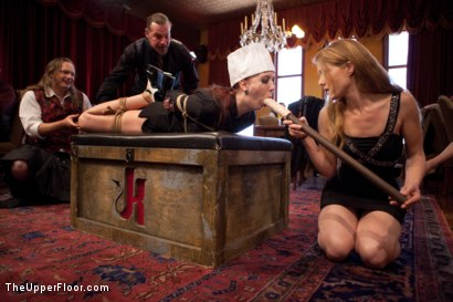 Photo number 2 from Anal Bang Reward for the Brunch Chef shot for The Upper Floor on Kink.com. Featuring Beretta James, Alani Pi and Nerine Mechanique in hardcore BDSM & Fetish porn.
