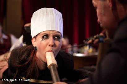 Photo number 3 from Anal Bang Reward for the Brunch Chef shot for The Upper Floor on Kink.com. Featuring Beretta James, Alani Pi and Nerine Mechanique in hardcore BDSM & Fetish porn.