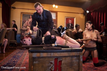 Photo number 4 from Anal Bang Reward for the Brunch Chef shot for The Upper Floor on Kink.com. Featuring Beretta James, Alani Pi and Nerine Mechanique in hardcore BDSM & Fetish porn.