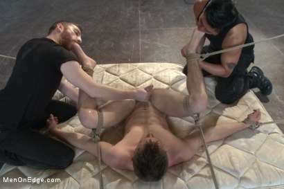 Photo number 14 from Straight stud edged to the extreme shot for Men On Edge on Kink.com. Featuring Steve Stiffer in hardcore BDSM & Fetish porn.