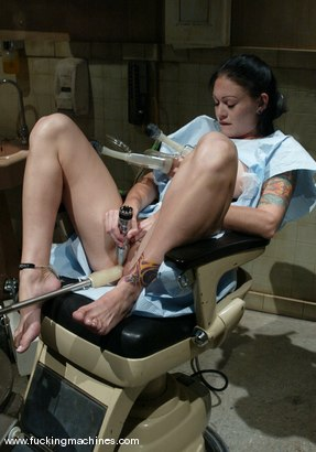 Photo number 2 from Krissy Kage shot for Fucking Machines on Kink.com. Featuring Krissy Kage in hardcore BDSM & Fetish porn.