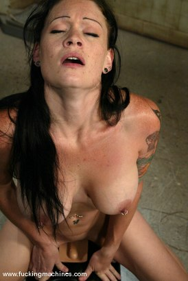 Photo number 10 from Krissy Kage shot for Fucking Machines on Kink.com. Featuring Krissy Kage in hardcore BDSM & Fetish porn.