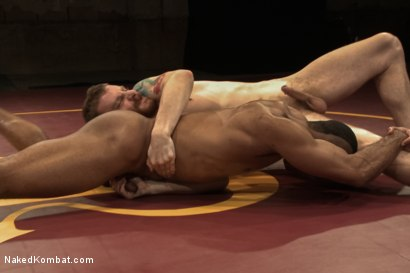 "Photo number 8 from Troy ""The Tank"" Sparks vs Sebastian ""The Tiger"" Keys  shot for Naked Kombat on Kink.com. Featuring Troy Sparks and Sebastian Keys in hardcore BDSM & Fetish porn."