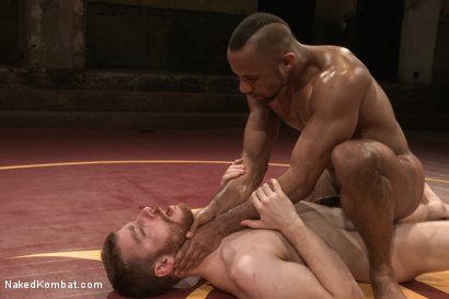 "Photo number 12 from Troy ""The Tank"" Sparks vs Sebastian ""The Tiger"" Keys  shot for Naked Kombat on Kink.com. Featuring Troy Sparks and Sebastian Keys in hardcore BDSM & Fetish porn."