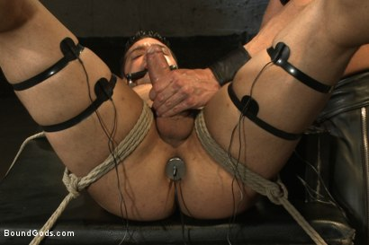 Photo number 10 from Bound Body Builder shot for Bound Gods on Kink.com. Featuring Alan Ladd and Marcus Ruhl in hardcore BDSM & Fetish porn.