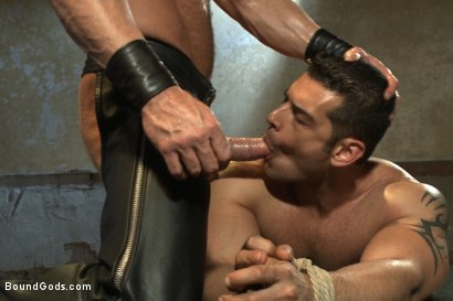 Photo number 14 from Bound Body Builder shot for Bound Gods on Kink.com. Featuring Alan Ladd and Marcus Ruhl in hardcore BDSM & Fetish porn.