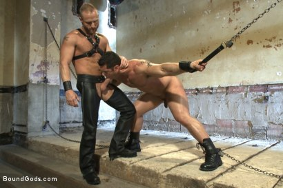Photo number 6 from Bound Body Builder shot for Bound Gods on Kink.com. Featuring Alan Ladd and Marcus Ruhl in hardcore BDSM & Fetish porn.
