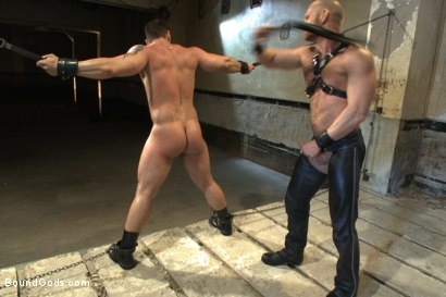 Photo number 8 from Bound Body Builder shot for Bound Gods on Kink.com. Featuring Alan Ladd and Marcus Ruhl in hardcore BDSM & Fetish porn.