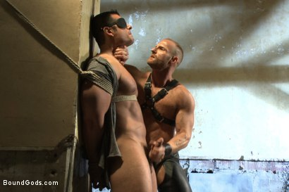 Photo number 4 from Bound Body Builder shot for Bound Gods on Kink.com. Featuring Alan Ladd and Marcus Ruhl in hardcore BDSM & Fetish porn.