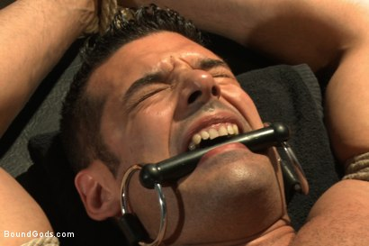 Photo number 9 from Bound Body Builder shot for Bound Gods on Kink.com. Featuring Alan Ladd and Marcus Ruhl in hardcore BDSM & Fetish porn.