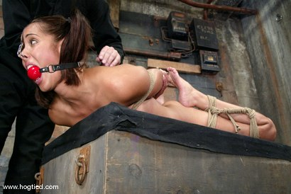 Photo number 10 from Lochai and Isis Love shot for Hogtied on Kink.com. Featuring Lochai and Isis Love in hardcore BDSM & Fetish porn.