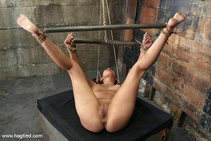 Photo number 13 from Lochai and Isis Love shot for Hogtied on Kink.com. Featuring Lochai and Isis Love in hardcore BDSM & Fetish porn.