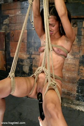 Photo number 9 from Lochai and Isis Love shot for Hogtied on Kink.com. Featuring Lochai and Isis Love in hardcore BDSM & Fetish porn.