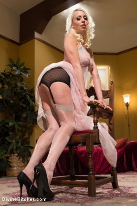 Photo number 1 from Just One Of the Girls: A sissy slut is born shot for Divine Bitches on Kink.com. Featuring Lorelei Lee and Owen Gray in hardcore BDSM & Fetish porn.