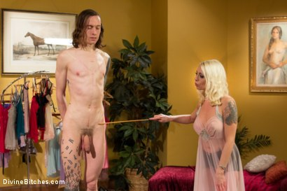 Photo number 5 from Just One Of the Girls: A sissy slut is born shot for Divine Bitches on Kink.com. Featuring Lorelei Lee and Owen Gray in hardcore BDSM & Fetish porn.