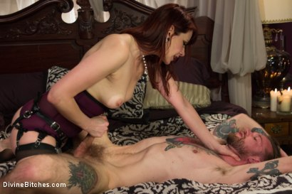Photo number 13 from One In A Million........... shot for Divine Bitches on Kink.com. Featuring Maitresse Madeline Marlowe  and Will Havoc in hardcore BDSM & Fetish porn.