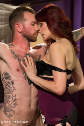 Photo number 12 from One In A Million........... shot for Divine Bitches on Kink.com. Featuring Maitresse Madeline Marlowe  and Will Havoc in hardcore BDSM & Fetish porn.