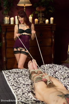 Photo number 2 from One In A Million........... shot for Divine Bitches on Kink.com. Featuring Maitresse Madeline Marlowe  and Will Havoc in hardcore BDSM & Fetish porn.