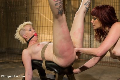 Photo number 5 from Submission Of Sasha Knox shot for Whipped Ass on Kink.com. Featuring Maitresse Madeline Marlowe  and Sasha Knox in hardcore BDSM & Fetish porn.