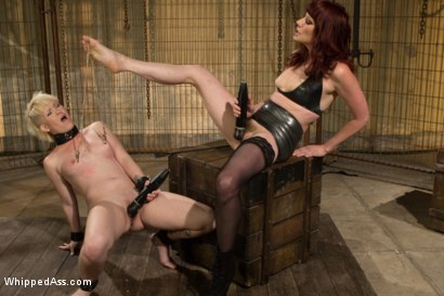 Photo number 3 from Submission Of Sasha Knox shot for Whipped Ass on Kink.com. Featuring Maitresse Madeline Marlowe  and Sasha Knox in hardcore BDSM & Fetish porn.