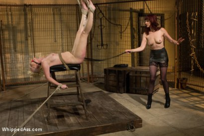 Photo number 10 from Submission Of Sasha Knox shot for Whipped Ass on Kink.com. Featuring Maitresse Madeline Marlowe  and Sasha Knox in hardcore BDSM & Fetish porn.