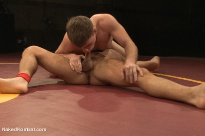 "Photo number 6 from Doug ""The Destroyer"" Acre vs Dominic ""The Dominator"" Pacifico  shot for Naked Kombat on Kink.com. Featuring Doug Acre and Dominic Pacifico in hardcore BDSM & Fetish porn."