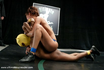 Photo number 9 from The Goddess (4-0) vs. Yellow Kitty (0-1) shot for Ultimate Surrender on Kink.com. Featuring Isis Love and Yellow Kitty in hardcore BDSM & Fetish porn.