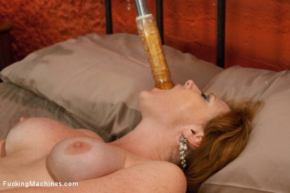 Photo number 11 from The Ginger Queen & the Machines -Ass Fucking Double Anal Pussy Poundin shot for Fucking Machines on Kink.com. Featuring Audrey Hollander in hardcore BDSM & Fetish porn.