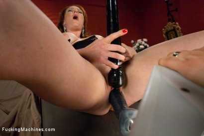 Photo number 7 from The Ginger Queen & the Machines -Ass Fucking Double Anal Pussy Poundin shot for Fucking Machines on Kink.com. Featuring Audrey Hollander in hardcore BDSM & Fetish porn.
