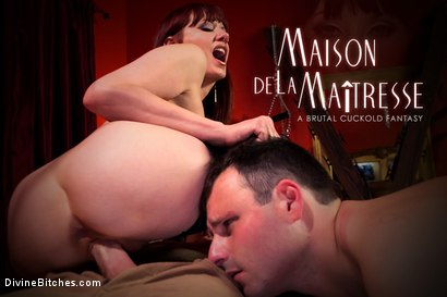 Photo number 9 from Maison De La Maitresse: A Brutal Cuckold Fantasy! WARNING: Not for the faint of heart! shot for Divine Bitches on Kink.com. Featuring Maitresse Madeline Marlowe , Christian Wilde and Marcelo in hardcore BDSM & Fetish porn.