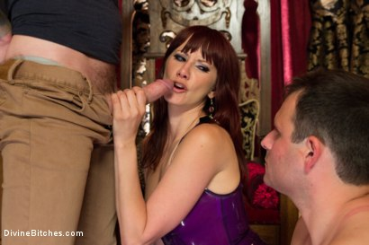 Photo number 12 from Maison De La Maitresse: A Brutal Cuckold Fantasy! WARNING: Not for the faint of heart! shot for Divine Bitches on Kink.com. Featuring Maitresse Madeline Marlowe , Christian Wilde and Marcelo in hardcore BDSM & Fetish porn.