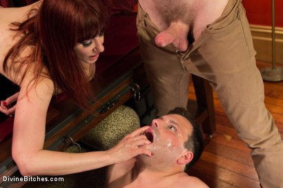 Photo number 6 from Maison De La Maitresse: A Brutal Cuckold Fantasy! WARNING: Not for the faint of heart! shot for Divine Bitches on Kink.com. Featuring Maitresse Madeline Marlowe , Christian Wilde and Marcelo in hardcore BDSM & Fetish porn.