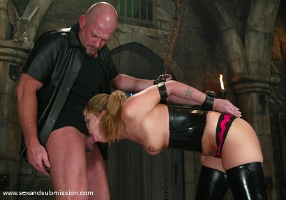 Photo number 7 from Hollie Stevens and Mark Davis shot for Sex And Submission on Kink.com. Featuring Hollie Stevens and Mark Davis in hardcore BDSM & Fetish porn.