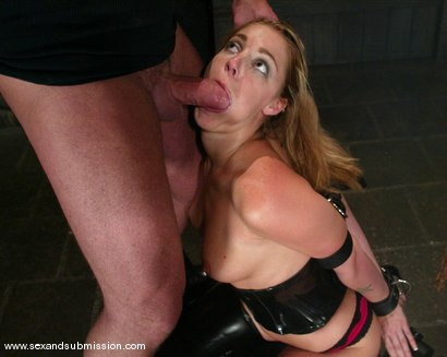 Photo number 9 from Hollie Stevens and Mark Davis shot for Sex And Submission on Kink.com. Featuring Hollie Stevens and Mark Davis in hardcore BDSM & Fetish porn.