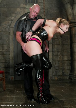 Photo number 2 from Hollie Stevens and Mark Davis shot for Sex And Submission on Kink.com. Featuring Hollie Stevens and Mark Davis in hardcore BDSM & Fetish porn.