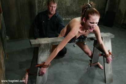 Photo number 8 from Hailey Young shot for Hogtied on Kink.com. Featuring Hailey Young in hardcore BDSM & Fetish porn.