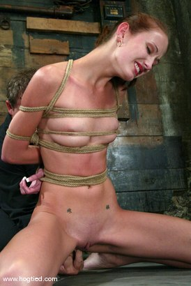 Photo number 10 from Hailey Young shot for Hogtied on Kink.com. Featuring Hailey Young in hardcore BDSM & Fetish porn.