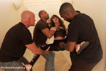 Photo number 3 from Kat Dior Special-Orders Rough Hardcore Gangbang  shot for Hardcore Gangbang on Kink.com. Featuring John Strong, Karlo Karrera, John Johnson, Kat Dior and Mark Davis in hardcore BDSM & Fetish porn.