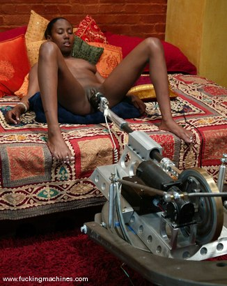 Photo number 12 from Iman shot for Fucking Machines on Kink.com. Featuring Iman in hardcore BDSM & Fetish porn.