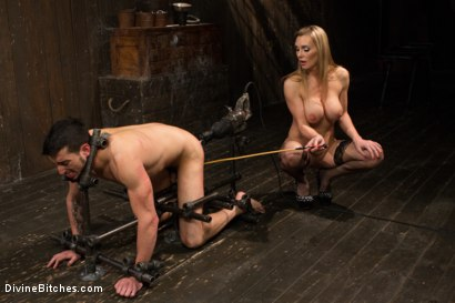 Photo number 15 from British bombshell, Tanya Tate gives douche bag club dude a lesson! shot for Divine Bitches on Kink.com. Featuring Tanya Tate and Casey More in hardcore BDSM & Fetish porn.