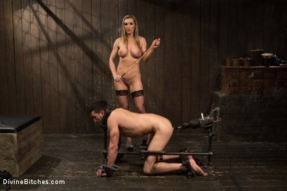 Photo number 10 from British bombshell, Tanya Tate gives douche bag club dude a lesson! shot for Divine Bitches on Kink.com. Featuring Tanya Tate and Casey More in hardcore BDSM & Fetish porn.
